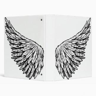 Cute Guardian Angel's Wing(s) Vector Art Binders