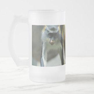 Cute Guenon Wolf s Monkey Beer Mug