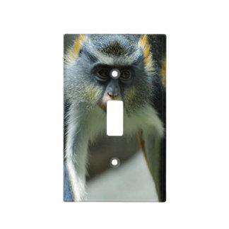 Cute Guenon Wolf's Monkey Light Switch Plates
