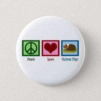 Cute Guinea Pig Button
