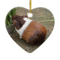Cute Guinea Pig Ceramic Ornament