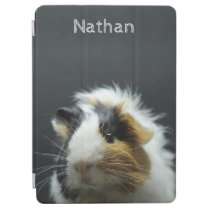 Cute Guinea Pig Chalkboard Personalised iPad Air Cover