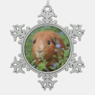 Cute Guinea pig christmas ornament pet cavy cavies
