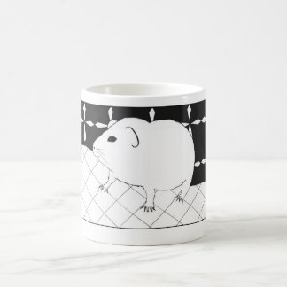 Cute guinea pig coffee mug