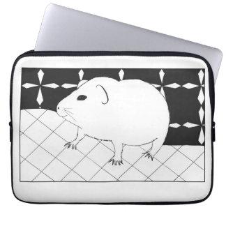 Cute guinea pig computer sleeve
