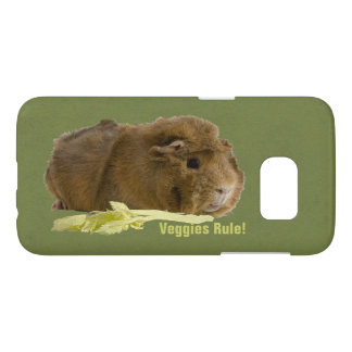 Cute Guinea Pig With Celery Samsung Galaxy S7 Case
