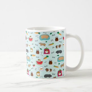 Cute Guinea Pigs Coffee Mug