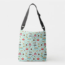 Cute Guinea Pigs Crossbody Bag