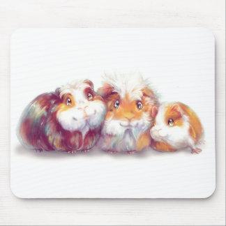 Cute Guinea Pigs Mouse Pad