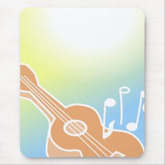 Cute Guitar Mouse Pad