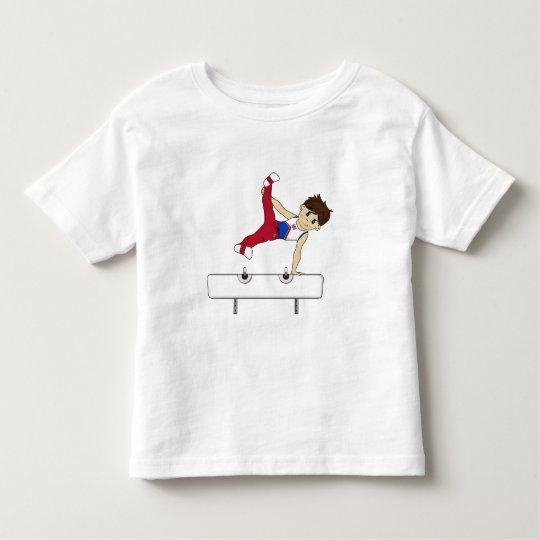 Cute Gymnast on Pommel Horse Tee