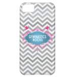 Cute Gymnastic Rocks Pink and Blue Gifts Case For iPhone 5C
