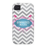 Cute Gymnastic Rocks Pink and Blue Gifts Case For The iPhone 4