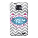 Cute Gymnastic Rocks Pink and Blue Gifts Samsung Galaxy SII Case