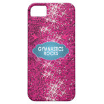Cute Gymnastic Rocks Pink and Blue Phone Cases iPhone 5 Case