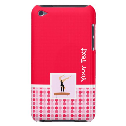 Cute Gymnastics Balance Beam iPod Touch Cases