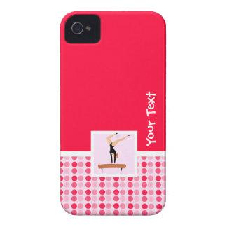 Cute Gymnastics Balance Beam iPhone 4 Cases