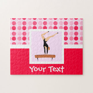 Cute Gymnastics Balance Beam Puzzles