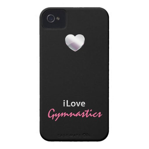 Cute Gymnastics iPhone 4 Cover