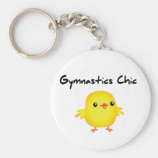 Cute Gymnastics Chic Keychain for Gymnasts