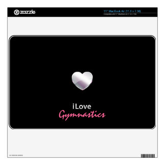 Cute Gymnastics Skin For MacBook Air