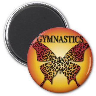 Cute Gymnastics Styles Magnet