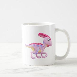 Cute Hadrosaur Cartoon Dinosaur Coffee Mug
