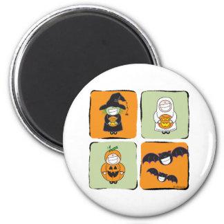 Cute Halloween 2 Inch Round Magnet