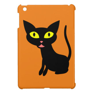 Cute, Halloween Black Cat Case For The iPad Mini