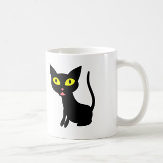 Cute, Halloween Black Cat Coffee Mug
