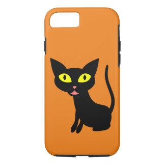 Cute, Halloween Black Cat iPhone 8/7 Case