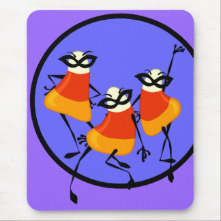 CUTE HALLOWEEN CANDY CORN MOUSE PAD