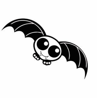 Cute Halloween Cartoon Bat Photo Sculpture