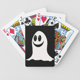 Cute Halloween Cartoon Ghost Bicycle Playing Cards
