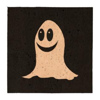 Cute Halloween Cartoon Ghost Coaster