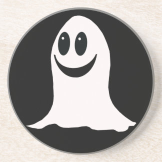 Cute Halloween Cartoon Ghost Coasters