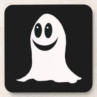 Cute Halloween Cartoon Ghost Drink Coaster
