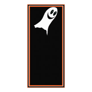 Cute Halloween Cartoon Ghost(s) Custom Rack Cards