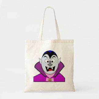 Cute Halloween Cartoon Vampire Tote Bag