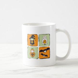 Cute Halloween Classic White Coffee Mug