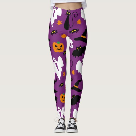 Cute Halloween Costume Party Leggings