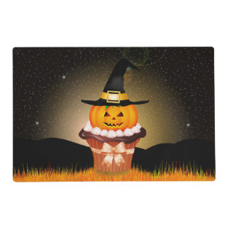 Cute Halloween Cupcake Laminated Placemat