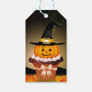 Cute Halloween Cupcake Pack Of Gift Tags