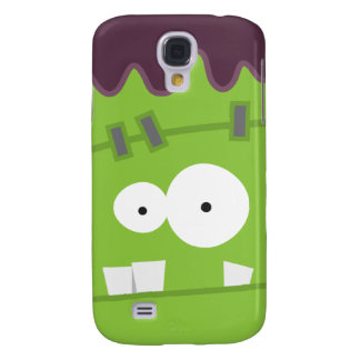 Cute Halloween Frankenstein Monster Face Samsung Galaxy S4 Case