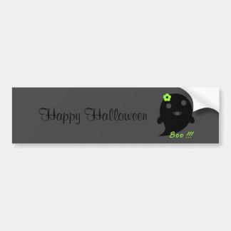 Cute Halloween Ghost Bumper Sticker