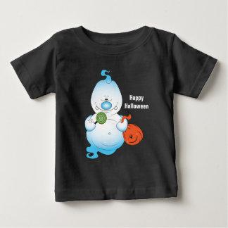 Cute Halloween Ghost Cartoon Baby T-Shirt