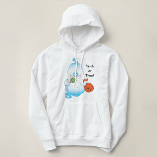 Cute Halloween Ghost Cartoon Hoodie