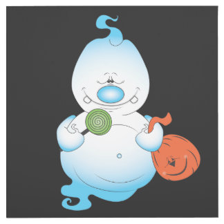 Cute Halloween Ghost Cartoon Outlet Cover
