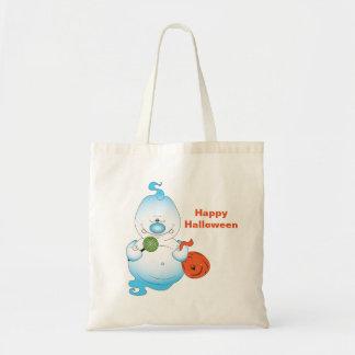Cute Halloween Ghost Cartoon Tote Bag