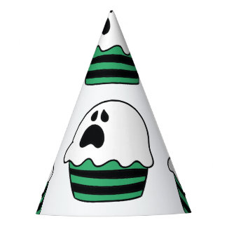 Cute Halloween ghost cupcake Party Hat
